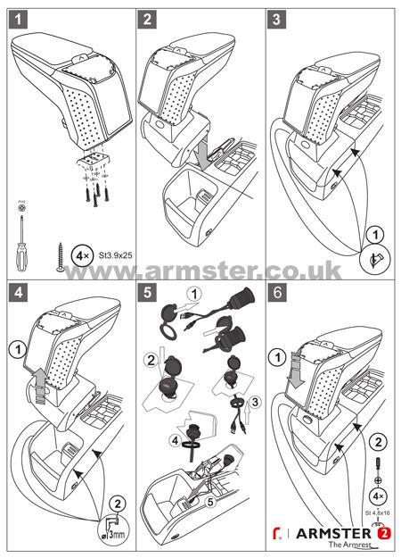 armster-2-armrest-ford-focus-usb-aux-15
