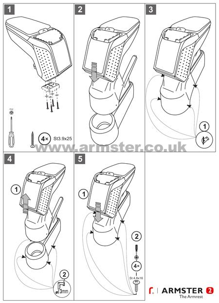 seat armster armrests