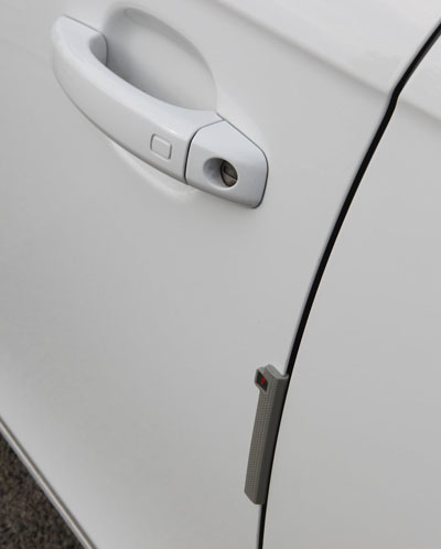 R-Stick Car Door Protectors - Grey & R-Stick Grey Car Door Protectors / Guards u2013 Armster UK