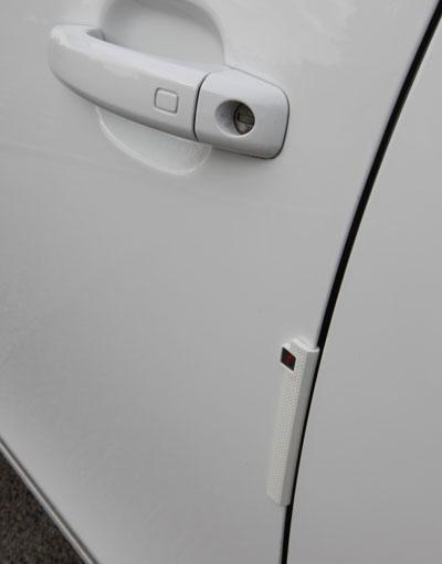 R-Stick Car Door Protectors - White & R-Stick White Car Door Protectors / Guards - Armster UK pezcame.com