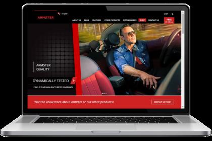 Armster UK Website