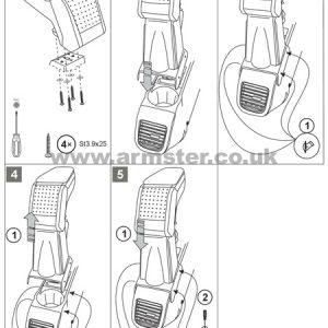 Fiat Doblo Armster S Armrest